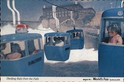 Thrilling Ride Over the Falls - Expo '74 World's Fair Postcard