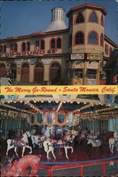 The Merry Go-Round Postcard
