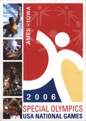 2006 Special Olympics USA National Games Postcard