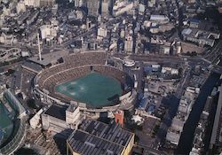 Korakuen baseball stadium in Japan Postcard