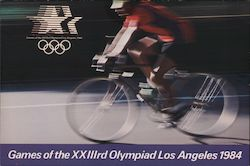Games of the XXIIIrd Olympiad Los Angeles 1984 Postcard