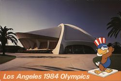 Anaheim Convention Center, Wrestling Venue - Los Angeles 1984 Olympics Postcard