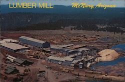 Lumber Mill Postcard