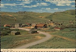 South Pass City - Gold Mining Town Founded in 1867 Postcard