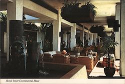 Hotel Inter-Continental Lobby Postcard