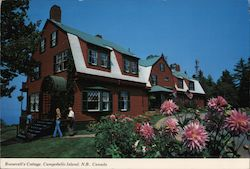 Roosevelt's Cottage Postcard
