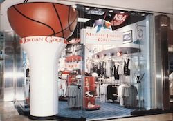 Michael Jordan Golf store Postcard