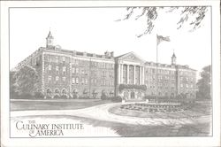 Roth Hall, The Culinary Institute of America Postcard