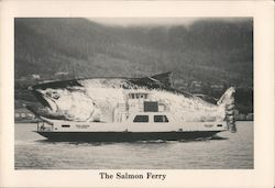 The Salmon Ferry. Postcard