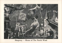Skagway - Home of The North Wind Postcard