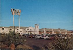Riverside Casino Motel Postcard
