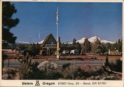 Sisters K.O.A. Kampgrounds Oregon Postcard