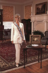 Miss South Carolina-USA, World of Clothing Postcard