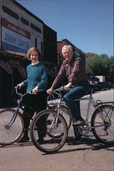 President and Mrs. Carter on Main St. in Plains