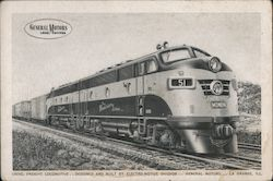 Diesel Freight Locomotive - Electro-Motive Division, General Motors