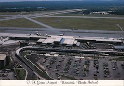 Theodore Francis Green Airport Postcard