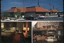 The Howard Johnson Motor Lodge & Restaurant Postcard