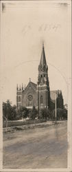 Rare: Catholic Church Postcard