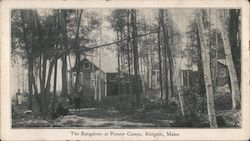 The Bungalows at Pioneer Camps Postcard