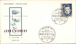 John F. Kennedy First Day Cover