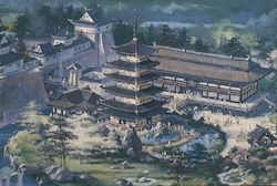 Japan In The World Showcase, Epcot Center Postcard