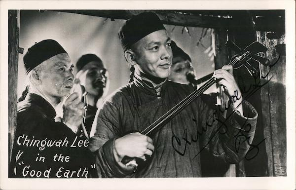 Chingwah Lee in the Good Earth Actors