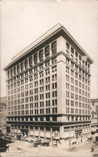 Union Oil Building Los Angeles California