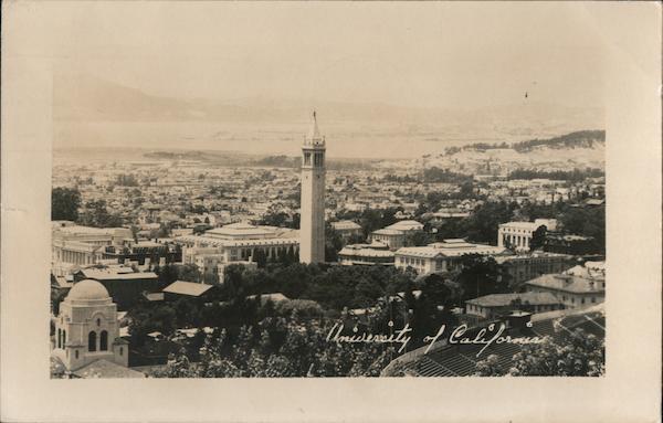 View of University of California Oakland