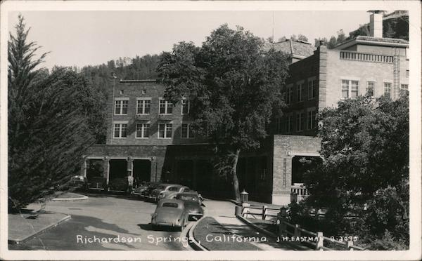 Richardson Springs Hotel, Butte County Chico California