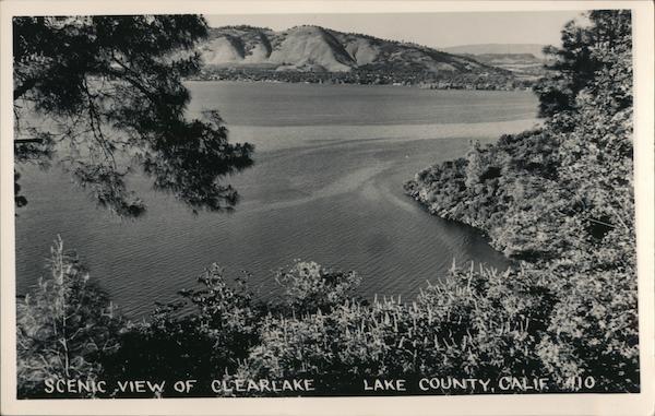 Scenic View of Clearlake California