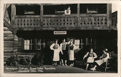 Norwegian Cottage, Great Lakes Exposition, 1936 Postcard