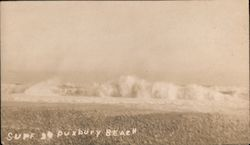 Surf at Duxbury Beach Postcard