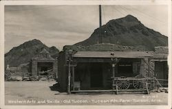 Western Arts and Skills - Old Tucson - Tucson Mtn. Park Postcard