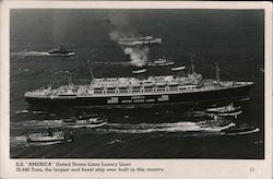 "S. S. ""America"" United States Luxury Liner"
