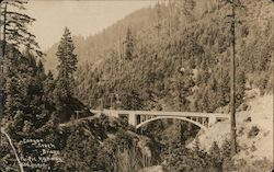 Bixby Creek - Bixby Canyon Bridge, Monterey County Postcard
