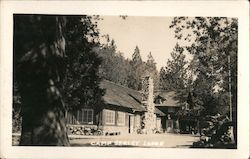 Camp Seely Lodge Postcard