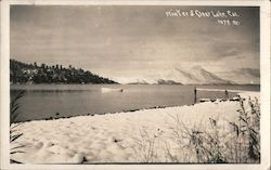 Winter at Clear Lake Postcard