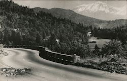 Mt. Shasta from Hgwy 99 Postcard