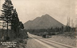 Black Butte from Pacific Highway Postcard