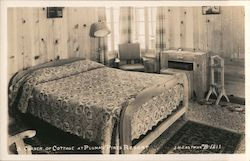 A corner of Cottage at Plumas Pines Resort Postcard