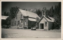 The Old General Store and Firehouse Postcard