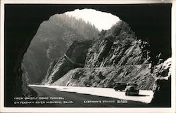 From Grizzly Dome Tunnel, on Feather River Highway Postcard