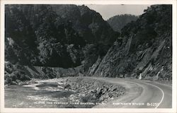 Along the Feather River Canyon Postcard
