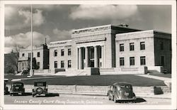 Lassen County Courthouse Postcard