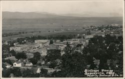 Bird's eye view of Susanville Postcard