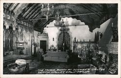 The Music Room at Scotty's Castle Postcard