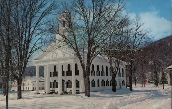 Windham County Court House Newfane Vermont