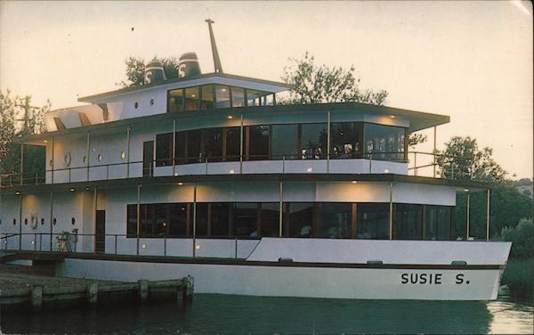 The Susie S, Recreation Center in a ship on Clear Lake, CA Clearlake California