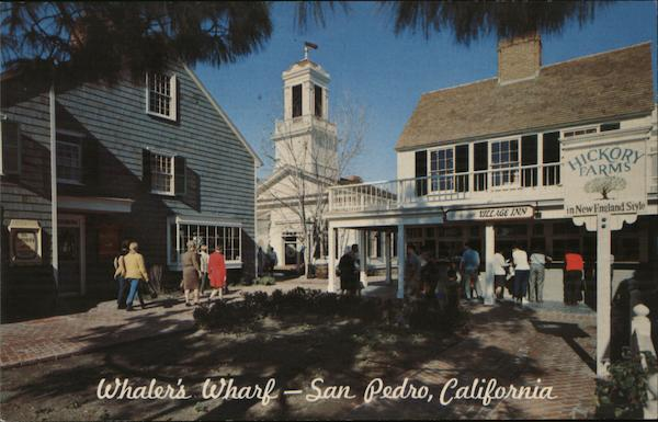 Town Hall Square at Whaler's Wharf San Pedro California