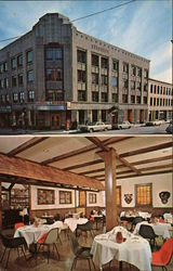 The Latchis Hotel, Brattleboro, Vermont Postcard